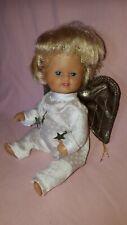 Puppe SCHILDKRÖT Engelchen Vinyl mit Aufhängung Weihnachtsdeko 18 cm