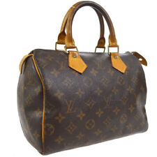 LOUIS VUITTON SPEEDY 25 HAND BAG MONOGRAM CANVAS LEATHER vzs M41528 30177