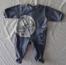 Pyjama bleu pour garçons, Absorba, taille : 1 mois