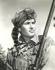 "Fess Parker 8x10 Signed Autograph Reprint ""Mint"" {FREE SHIPPING} 03"