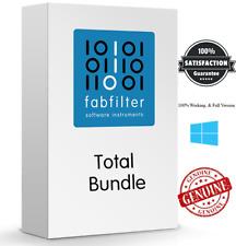 FabFilter Total Bundle w/Pro-Q 3, Pro-L, Pro-R, Pro-C Plugins Audio For Windows