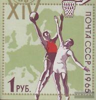 Sowjetunion 3130 (kompl.Ausg.) gestempelt 1965 Basketball-EM