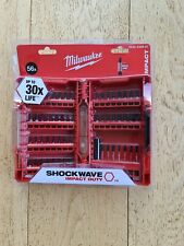 Milwaukee 4932430907 56 Piece Shockwave Impact Duty Drill/Screwdriver Bit Set