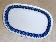 Arzberg Form 2300 TOSKANA blaue Rauten ~ Platte / Schale 32 cm