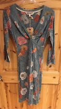 Fat Face Ingrid Graphic Floral Dress Size 8 BNWT