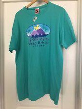 Disney Shirt Vera Beach Resort Nwt Large Blue shirt Tshirt Mens Womens