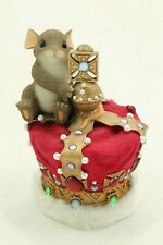 """Charming Tails """"May Today Be Your Crowing Glory"""" Signed By Dean Griff No Box"""