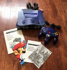 Rare Funtastic Nintendo 64 Launch Edition Grape Purple Console N64 Video Games
