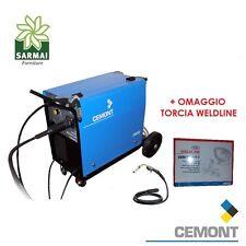 SALDATRICE CEMONT MIG/MAG MAXISTAR 180 MEC + OMAGGIO TORCIA WELDLINE 4 MT