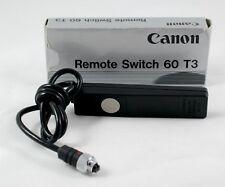 Canon 60 T3 remote switch including box.