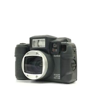 Konica Genbakantoku Zoom 28-56 Black Point & Shoot 35mm Film Camera EXC TK07B