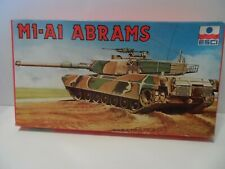 ESCI 1/72 M1-A1 ABRAMS TANK KIT