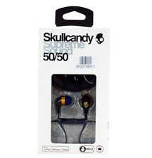 Skullcandy 50/50 For Apple iPhone Ipad iPod with Remote/MIC Black/Gold