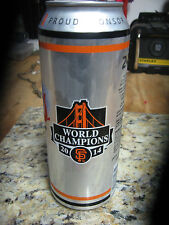 2014 World Series Champs San Francisco Giants COORS 24oz can EMPTY