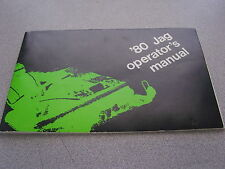 1980 Arctic Cat Snow Mobile Jag Operator Manual 2254-134