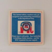 "Limited Edition 1997 ""RNC"" Lapel Pin"