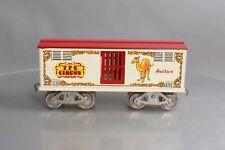 "McCoy 256C Standard Gauge TPC Circus Animal Car ""Sultan"" EX"