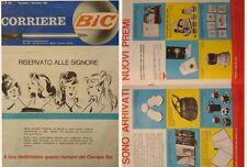 rivista/catalogo corriere bic del 1961 all'interno illustrazioni premi bello..
