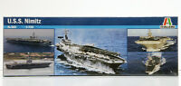 Italeri 503 1/720 Scale Model Kit U.S. Navy Aircraft Carrier USS Nimitz CVN-68