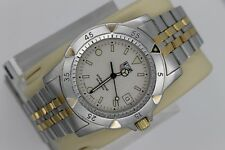 Tag Heuer WD1221 Gold 1500 Professional Watch Mens 955.706 JUMBO BB0607 Oversize