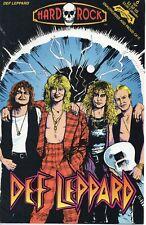 Hard Rock Comics #6 Def Leppard 1992 Revolutionary Comics F
