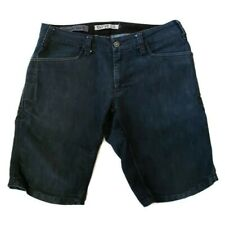 Swrve Blk  Regular Trim Fit Denim Jean Shorts 32 Cycling