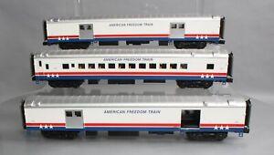 MTH American Freedom Train Baggage & Coach Cars [3]