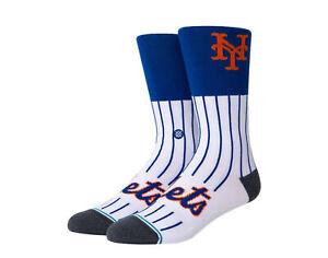Stance MLB Stadium New York Mets Color White/Royal Crew Socks A545A20NYM-WHT