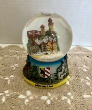 Vintage Nuremberg Germany Snow Ball Globe 4� 3D Highly Detailed Nurnberg