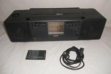 SONY CFD-K10 CD Radio Kassettenrecorder Dolby mit Fernbedienung