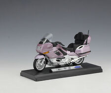 1:18 Welly BMW K1200LT Motorcycle Bike Model Pink New In Box