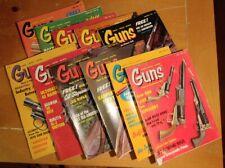 Vintage Guns Magazine Lot 1969 1968 1973 Hunting Shooting Adventure