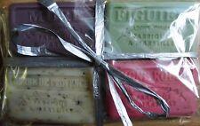 Savon de Marseilles Soap Set - 4 x Autumn Winter Soap Classics in Raffia Box