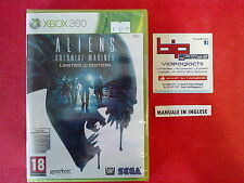 ALIENS COLONIAL MARINES LIMITED EDITION XBOX 360 PAL NUOVO SIGILLATO