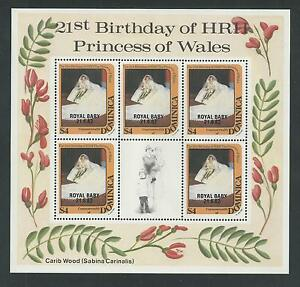 DOMINICA # 784 MNH ROYAL BIRTH, PRINCE WILLIAM. Miniature Sheet