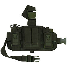 Fox MOLLE Special Ops Combat Drop Leg Panel Rig System- OLIVE DRAB OD GREEN