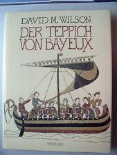 Der Teppich von Bayeux 1985 Kunstwerk Inschriften