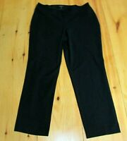 Talbots Woman Dress Pants Navy Blue Heritage Stretch Career Plus Size 16W 16