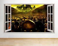 R957 Zombie Apocalypse Cool Horror Window Wall Decal 3D Art Stickers Vinyl Room