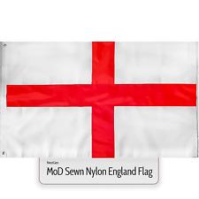 MoD England Flag Sewn Nylon Fabric Large St Georges Cross 5ft x 3ft Heavy Duty