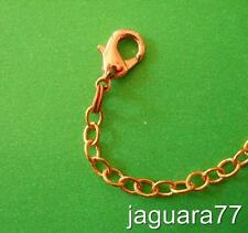 "1 solid COPPER CHAIN 5"" Extender 4 YOUR Renoir Matisse NECKLACE BRIGHT LG clasp"