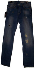 ZU ELEMENTS Gents Blue Super Slim Fit Jeans BNWT