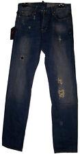 ZU ELEMENTS Gents Blue Super Slim Fit Jeans BNWT