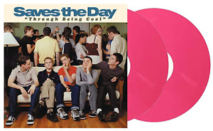 Saves The Day Through Being Cool Exclusive Breast Cancer Pink Color 2x Vinyl LP