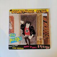 """RARE UK Pressing SEX PISTOLS, Something Else 7"""" Vinyl 45 Picture Slv 1979 Virgin"""
