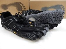 VIBRAM FIVEFINGERS MENS V-TRAIL BLACK GREY SIZE EU 43