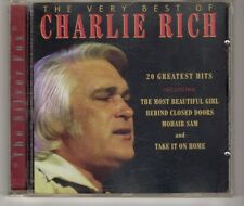 (HG888) Charlie Rich, The Very Best Of Charlie Rich - 1997 CD
