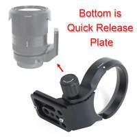 Lens Stand Tripod Collar Mount Ring for Sony FE 35mm F1.4 ZA & FE 10-18mm F4 OSS
