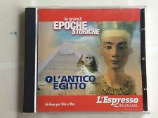 L'ESPRESSO   LE GRANDI EPOCHE STORICHE nr 1  L'ANTICO EGITTO CD-ROM  PC