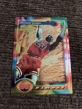 Michael Jordan 1993 1994 Topps Finest Iconic Centered No Scratches Sharp Corners